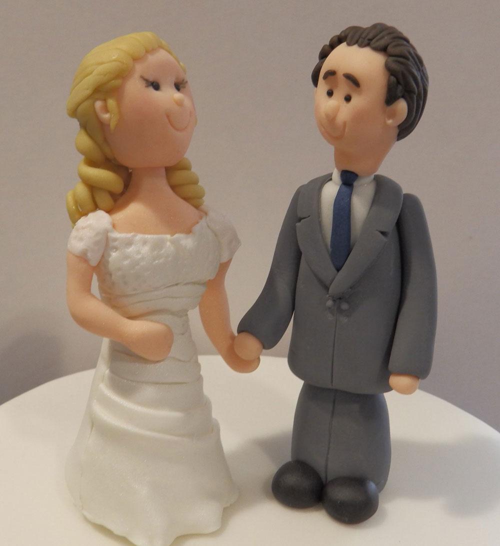 Personalised Bride & Groom on Top