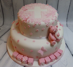 Christening Celebration Cake