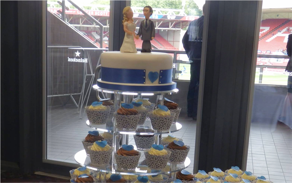 Wedding Cake for Bristol Fans
