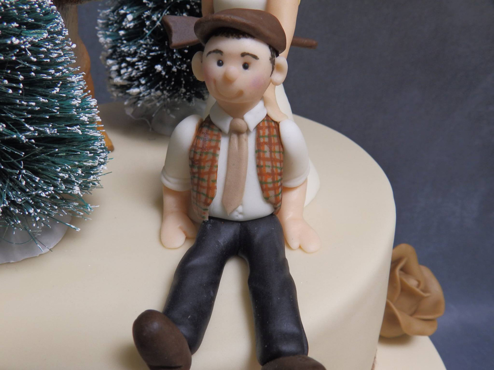 Personalised Christmas Cake
