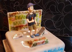 Cake for Bristol Skater Boy