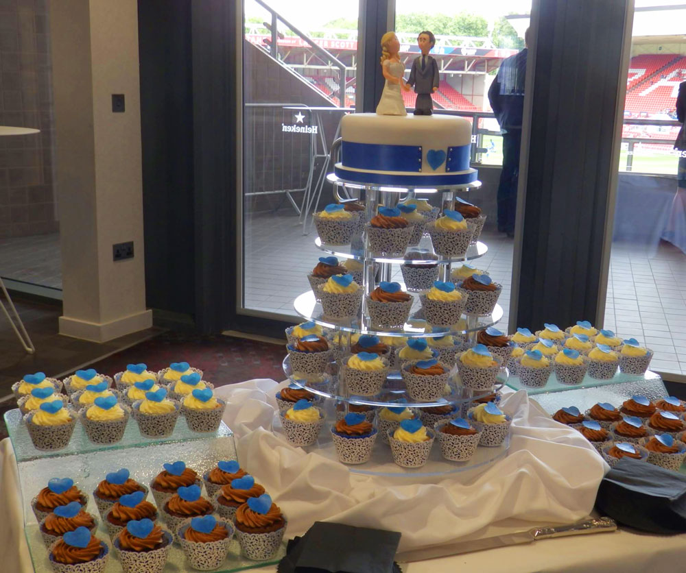 Wedding Cakes for Bristol Couple