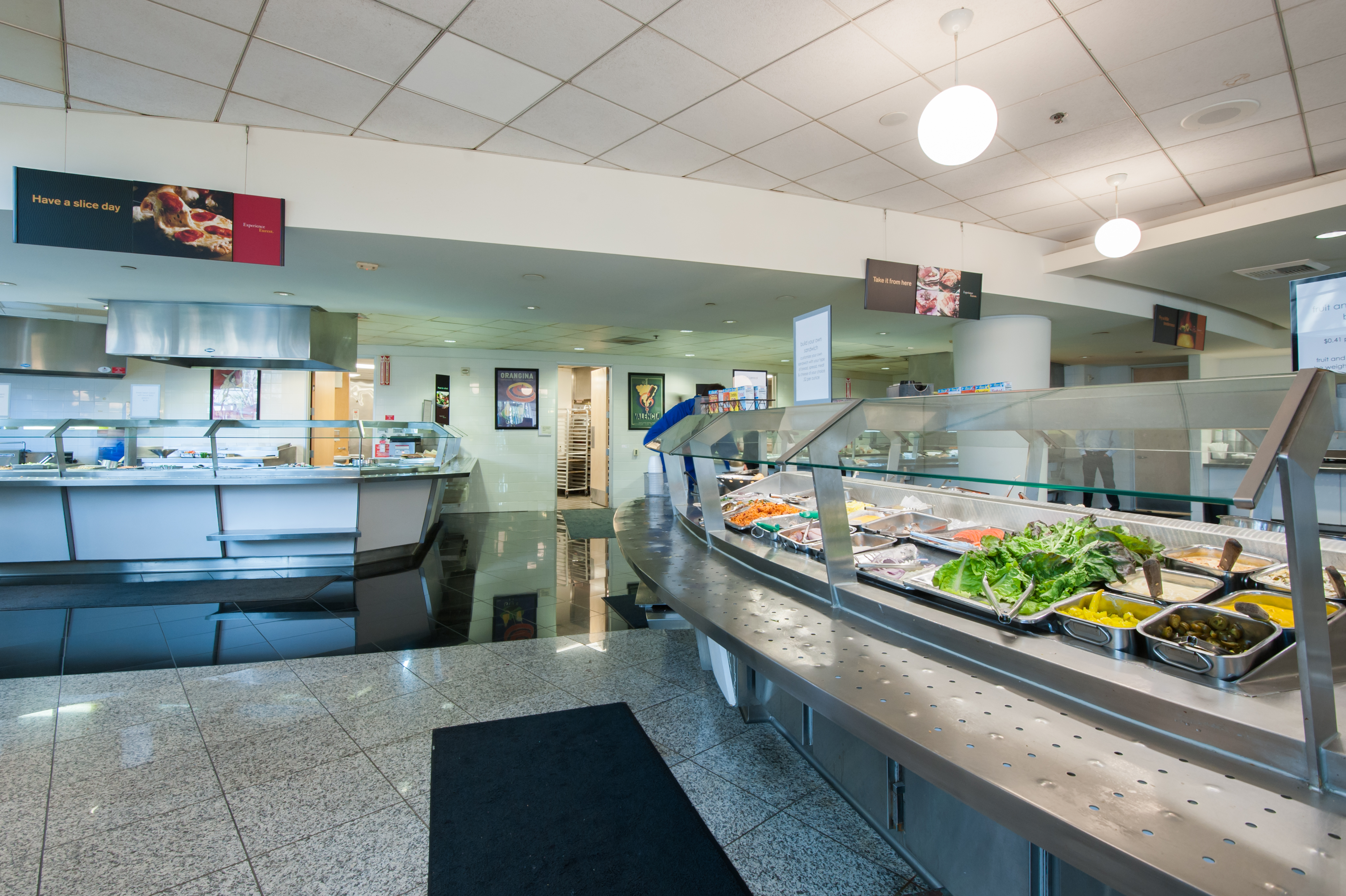 Full Service Cafeteria with Catering