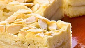Almond Apple Squares