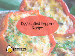 Delicious Egg Stuffed Peppers