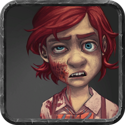 Lisa as a Zombie