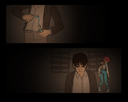Cutscene from the End