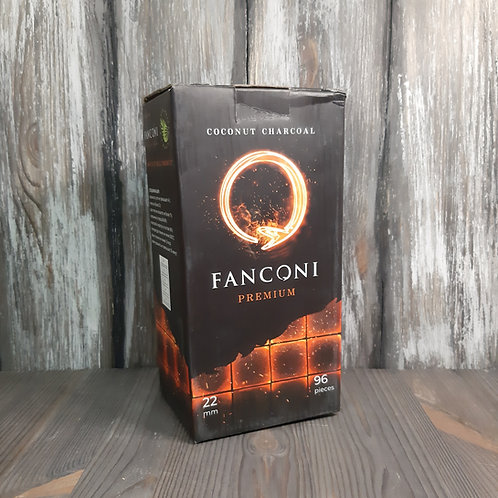 Уголь для кальяна Fanconi 22мм 96шт