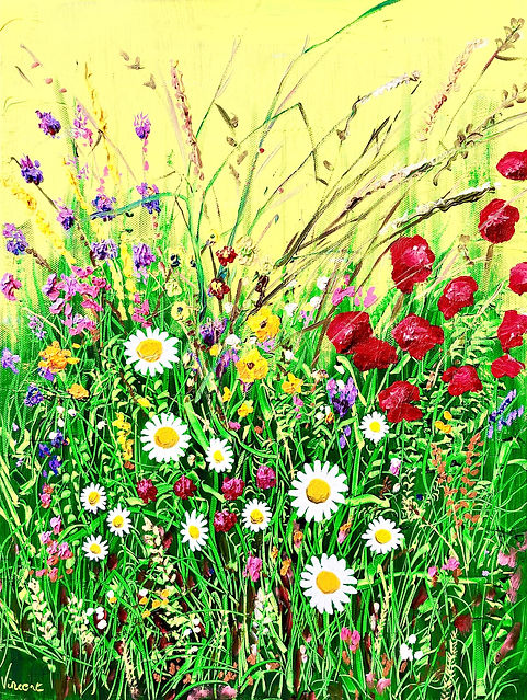 Vincent Smith Art - Wildflowers 5 - REF5