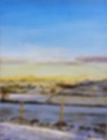 Vincent Smith Art - Winter Fields
