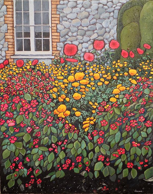 Vincent Smith Art - Begonia Garden