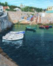 Vincent Smith Art - Coliemore Harbour 4.