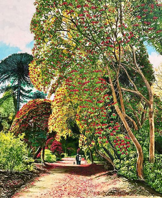 Vincent Smith Art - Kilmacurragh Walk II