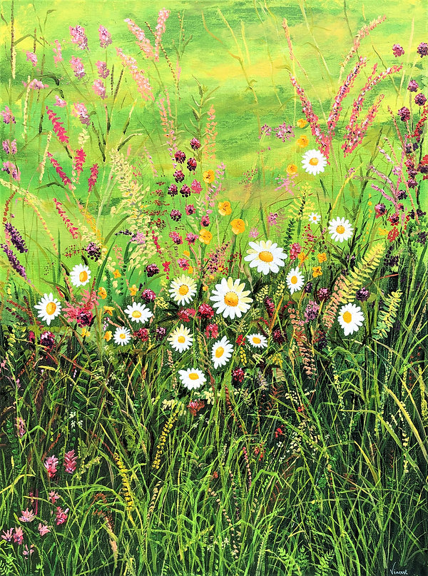 Vincent Smith Art - Summer Wildflowers.j