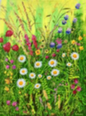 Vincent Smith Art - Wildflowers 7 - REF5