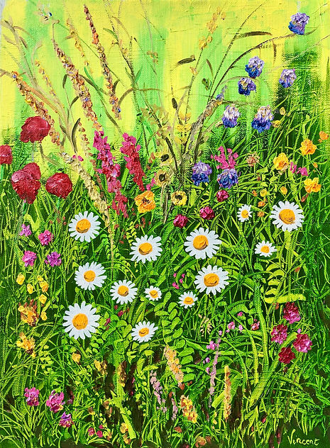 Vincent Smith Art - Wildflowers 7 - REF5