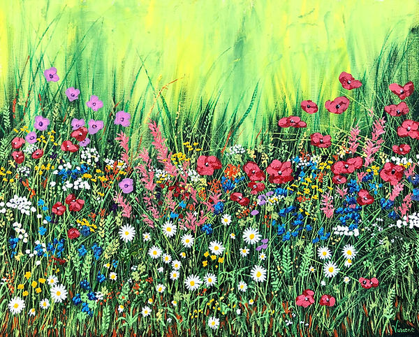 Vincent Smith Art - Marlay Wildflowers 4