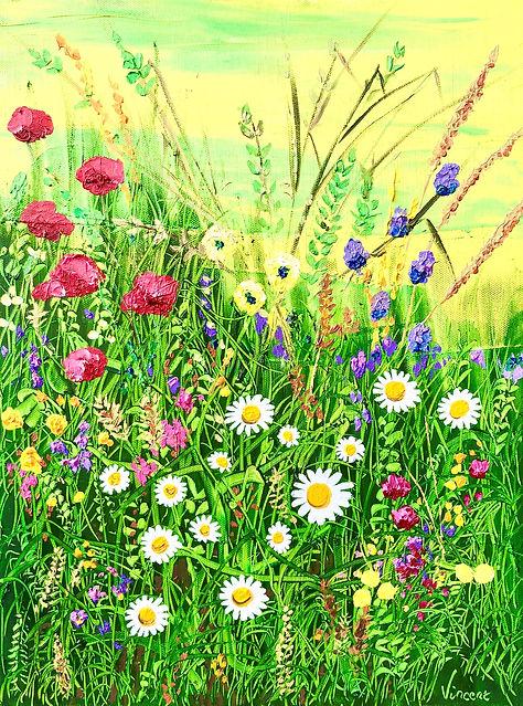 Vincent Smith Art - Wildflowers 9 - REF5