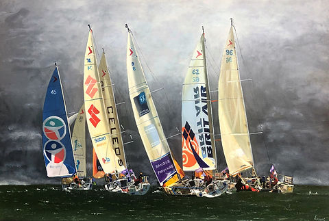 Vincent Smith Art - Water at the Mark -
