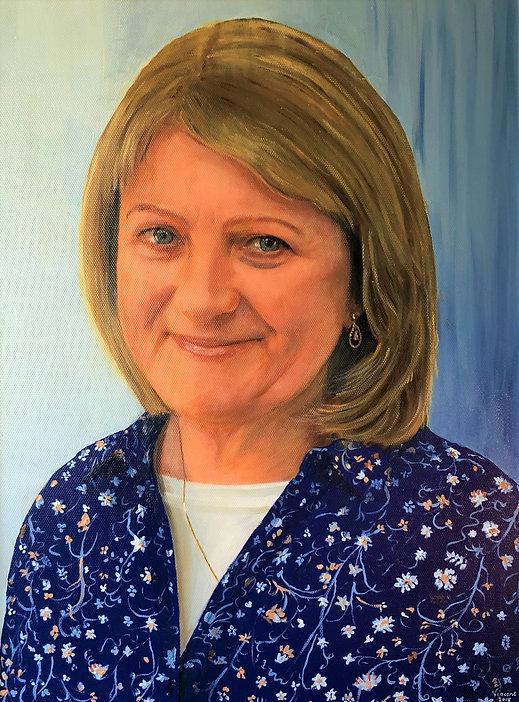 Vincent Smith Art - Portrait 15 - Margar