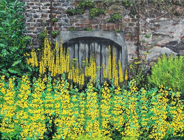 Vincent Smith Art - Walled Garden