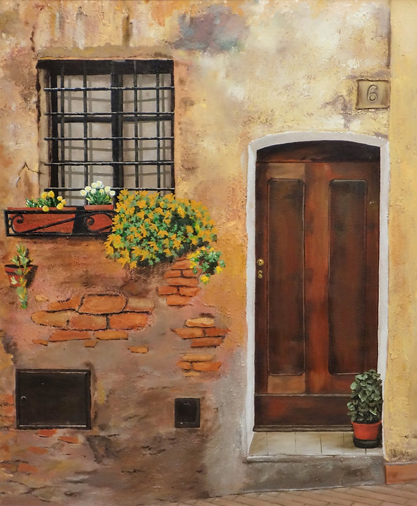Vincent Smith Art - Spanish Doorway