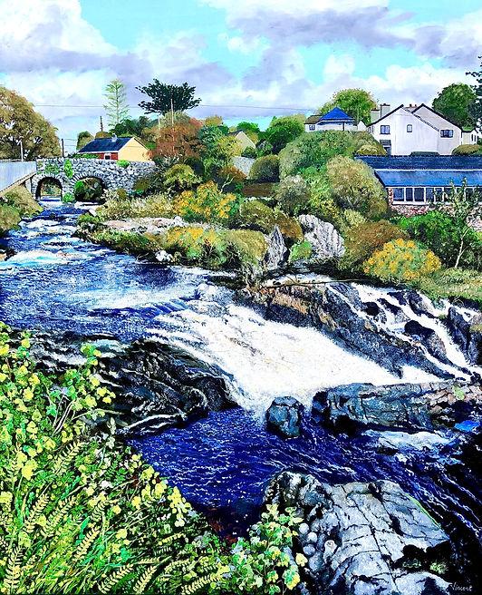 Vincent Smith Art - Owenglin Waterfall.J