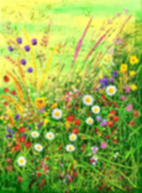 Vincent Smith Art - Wildflowers 10 - REF