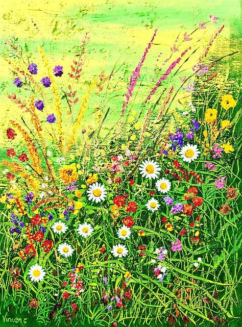 Vincent Smith Art - Wildflowers 10 - REF