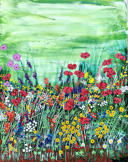 Vincent Smith Art - Marlay Wildflowers 2