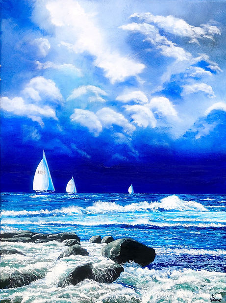 Vincent Smith Art - Calm Before The Stor