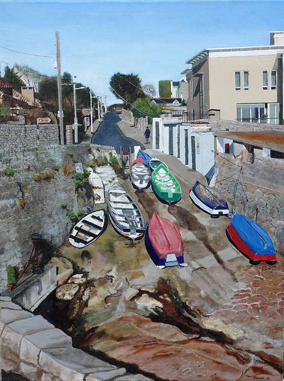 Vincent Smith Art - Coliemore Harbour