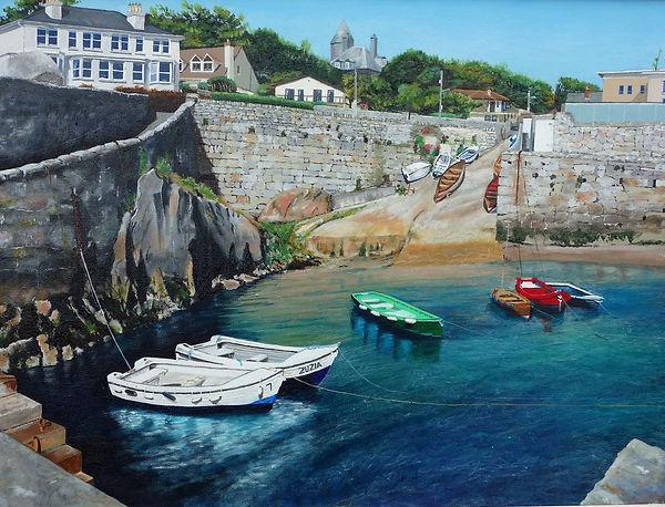 Vincent Smith Art - Dalkey Harbour