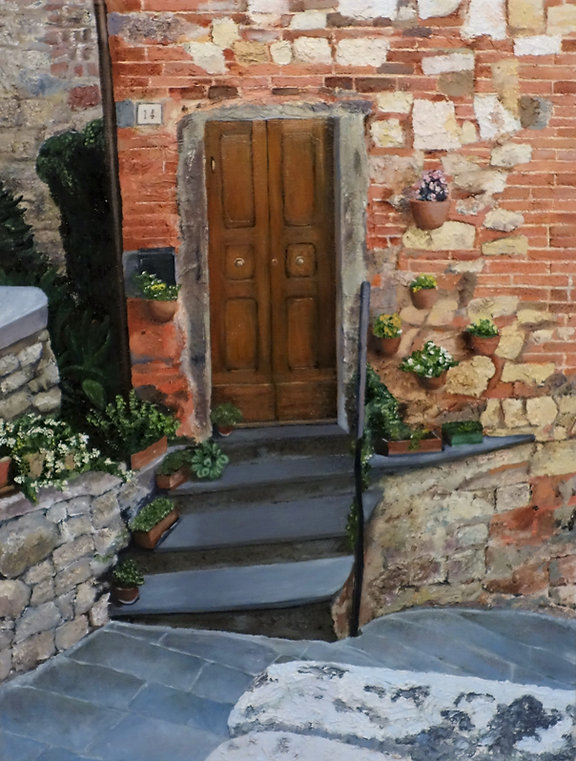 Vincent Smith Art - Spanish Steps