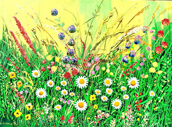 Vincent Smith Art - Wildflowers 8 - REF5