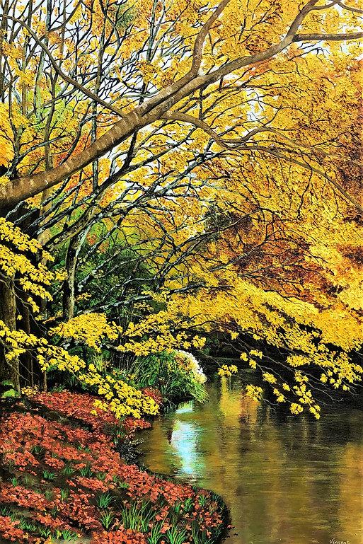 Vincent Smith Art - Mount Usher Gardens.