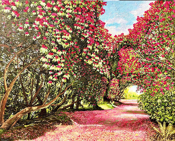 Vincent Smith Art - Kilmacurragh Walk I