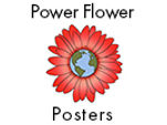 Power Flower Posters