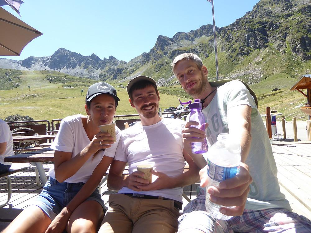 usflug in die Pyrenäen in Andorra