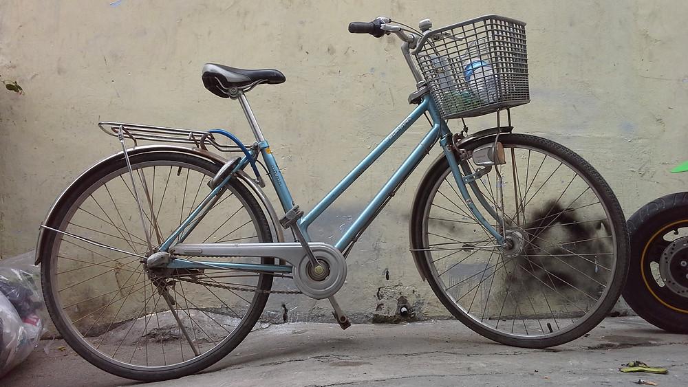 Fahrrad in Vietnam