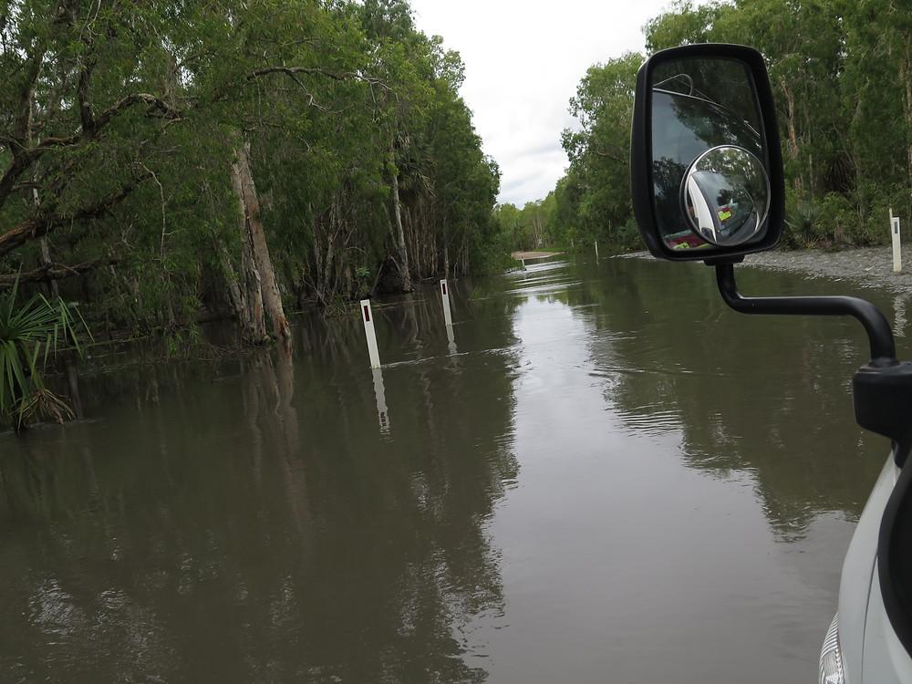 Überschwemmungen während der Regenzeit im Norden und Zentralaustralien