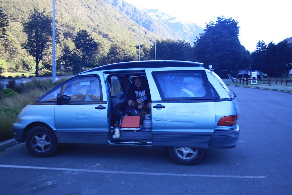Neuseeland gekauftes Auto