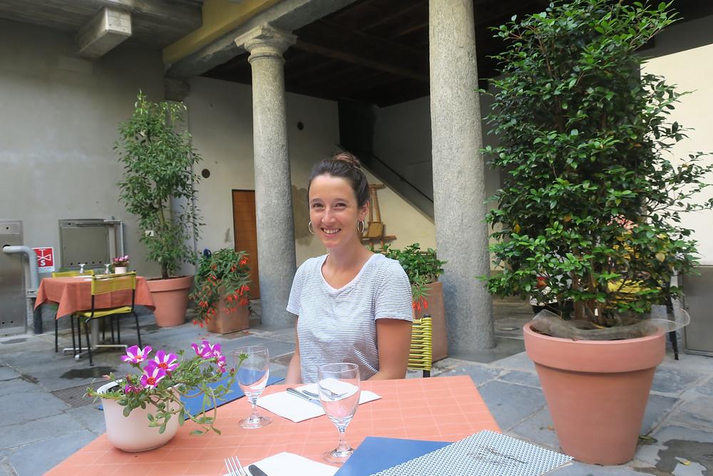 erstes Restaurant in Italien