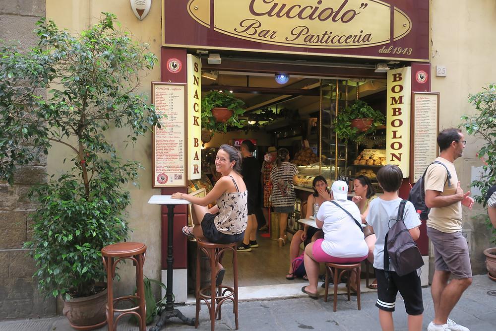 Street food in Italien