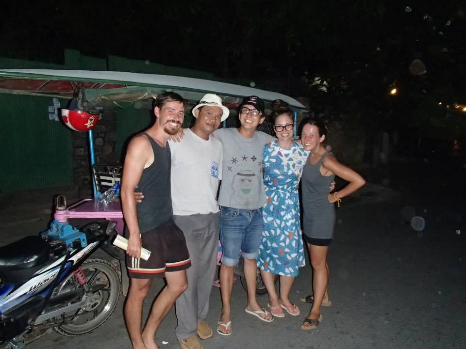 Wiedersehen mit Mojo und Anna in Phnom Penh