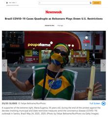 20200525_Brazil COVID-19 Cases Quadruple