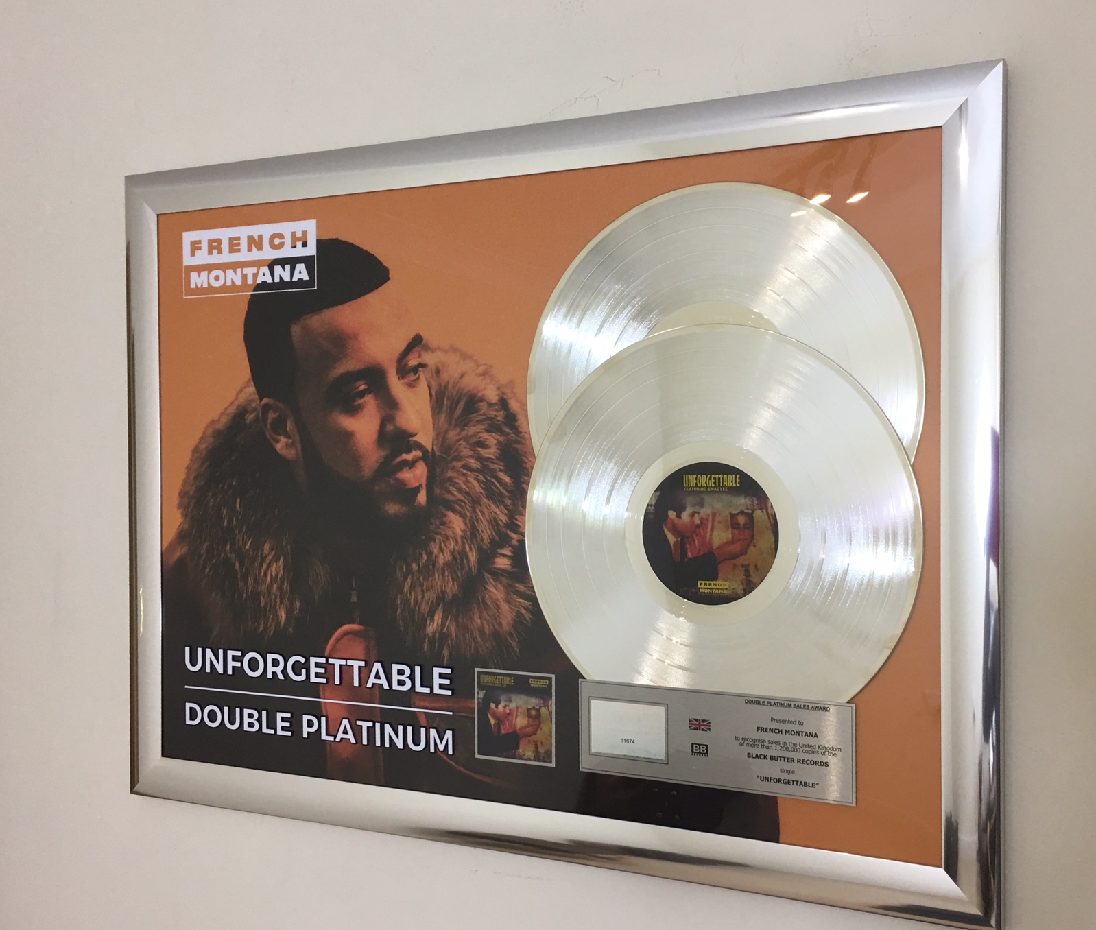 French Montana 500x700mm BPI