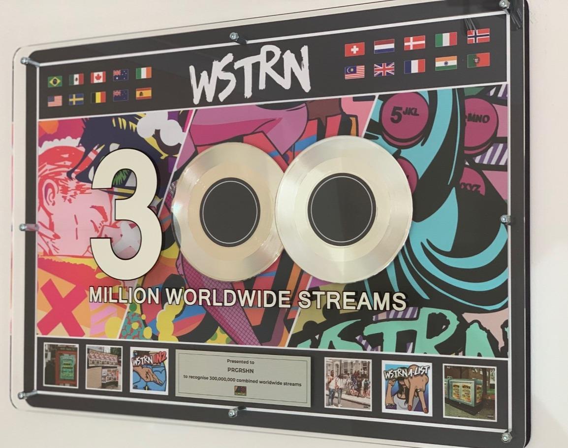 WSTRN 500x700mm Acrylic