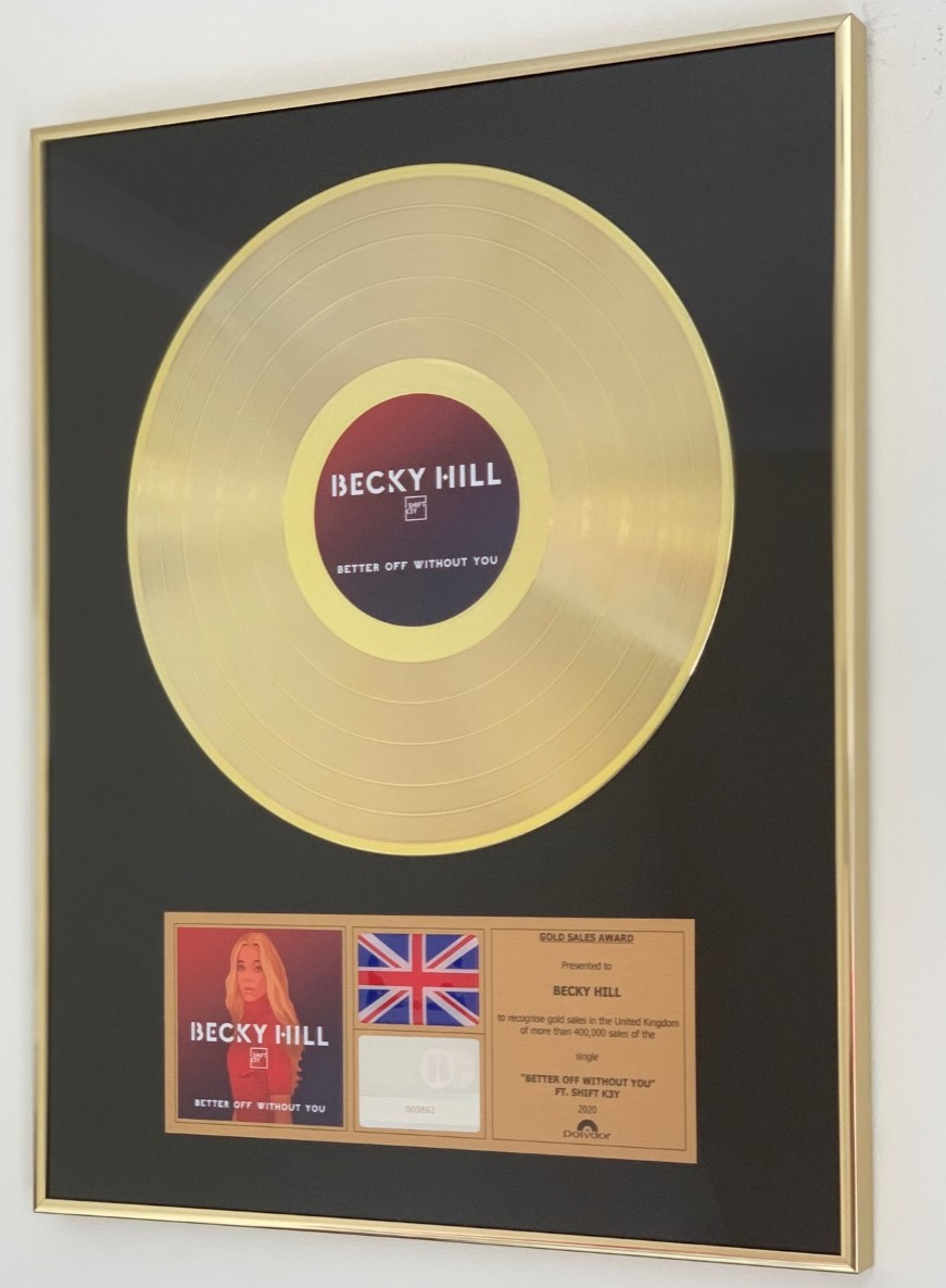 Becky Hill 400x500mm std