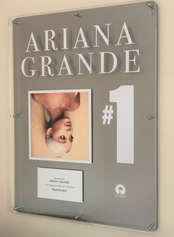Ariana Grande 600x800mm Acrylic